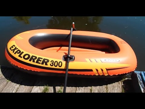 Intex Explorer 300 Inflatable Boat Review And Test Cruise