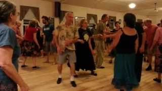 Contra Dance at the Capital City Grange, Montpelier, VT 5/4/13