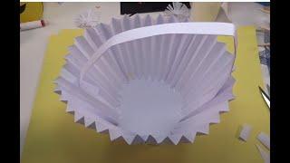 Diy How To Make Paper Basket | Easy Paper Basket for Gifts