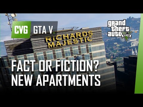 GTA 5: Fact or fiction New Online apartment located