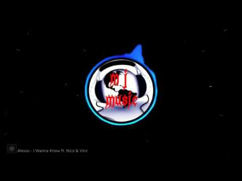 Alesso ( I Wanna Know ft. Nico & Vinz )-( Mix Mactro )