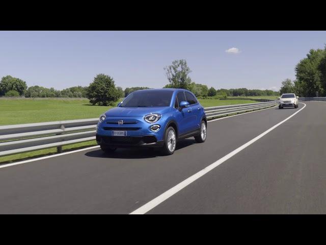 Der neue Fiat 500X – mit adaptivem Tempomat
