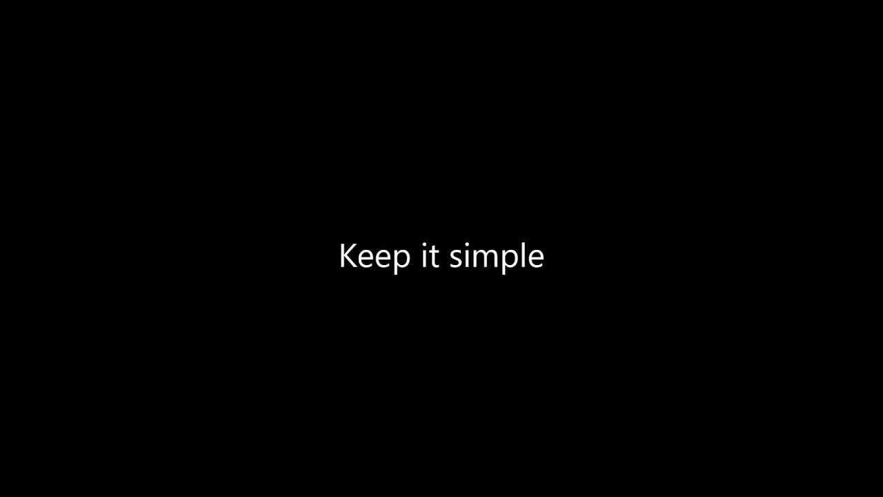 Ronan Keating - Keep it simple (Lyrics) - YouTube