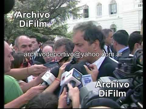 Gobernador Daniel Scioli habla de educacion en Buenos Aires - DiFilm (2009)