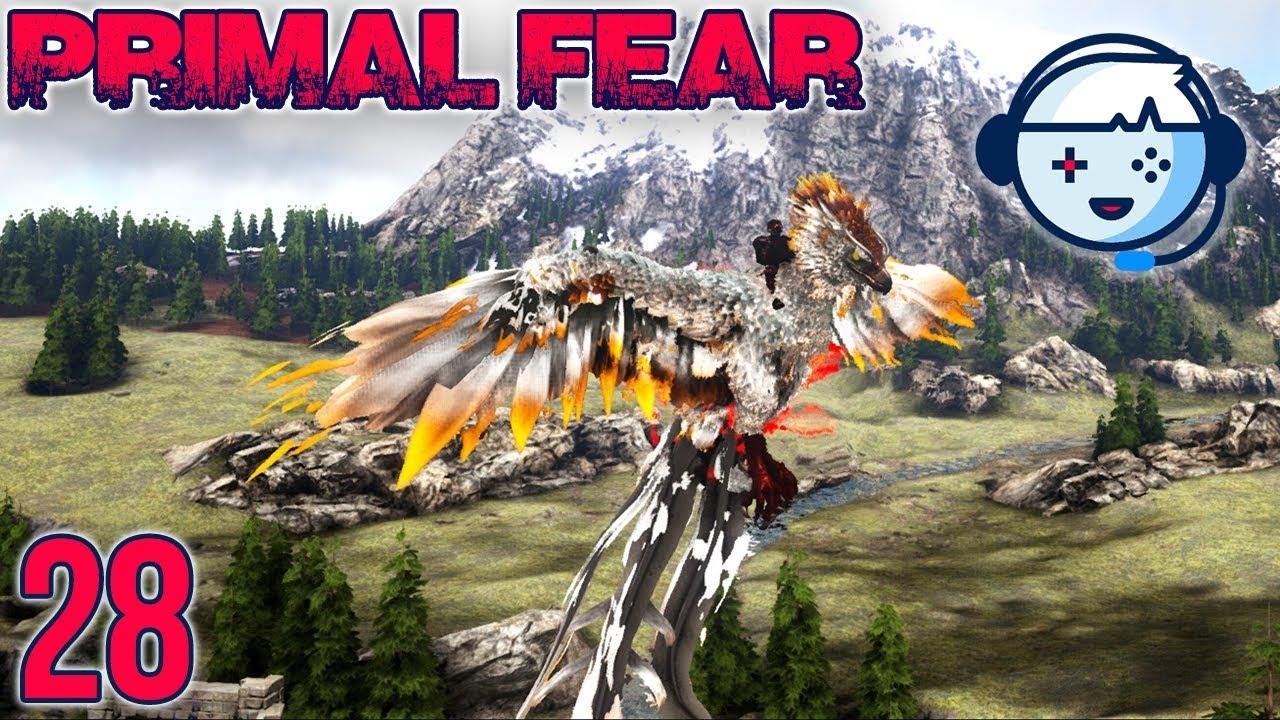 Taming the Alpha Phoenix | Primal Fear: Ragnarok | Ark: Survival Evolved |  S1:Ep28