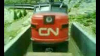 CN Super Continental engine view