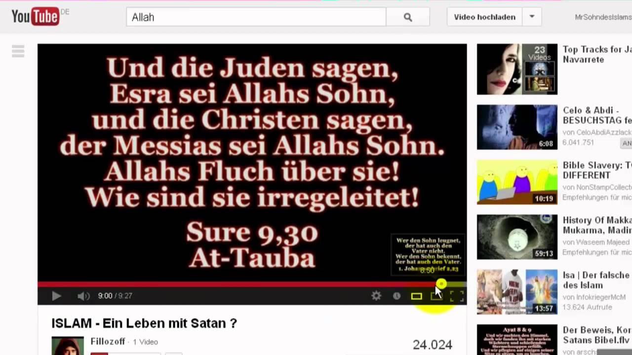 Re Der Beweis Koran Die Satans Bibelflv Antwort 33