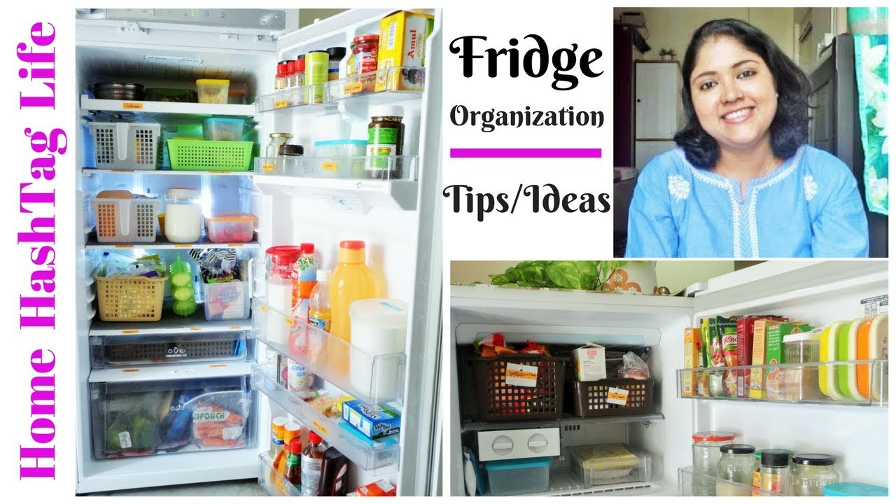 Fridge Organization Ideas l Indian Fridge Tour l How To Organize Fridge /  Refrigerator