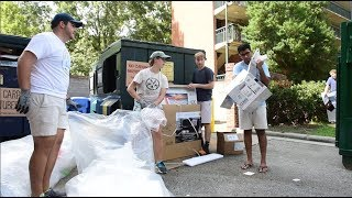 Keeping Carolina's Move-In Trash out of the Landfill