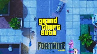 "CLASSIC ""GTA STYLE"" Fortnite Landscape Featuring... Tilted Towers!"