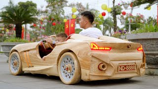 Epic BMW Wooden On The Park