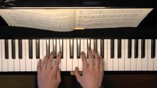 Piano - Schumann Album Jugend op 68 - Ländliches lied no 20