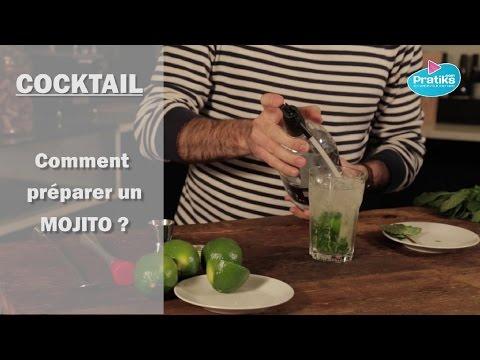 comment pr233parer un cocktail mojito youtube