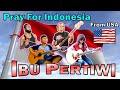 Ibu Pertiwi - Alip Ba Ta, Jess Mancuso, Ellis Lamar, Sway - Pray for Indonesia - USA - Collab Cover