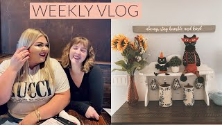 WEEKLY VLOG: Decorating for Fall, Bathroom Makeover, Clothing Haul