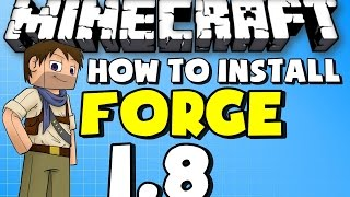 ★ Minecraft Mods: How to Install Forge For Minecraft 1.8 NEW