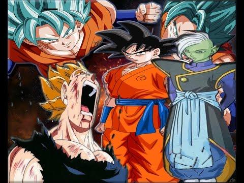 Informacion Dragon ball super -Transformacion Goku Blak