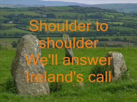 ireland's call lyrics