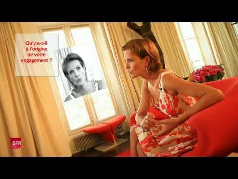 Interview de Carole Bouquet, porte parole de LA VOIX DE L'ENFANT pour SFR