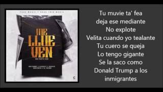 Me Llueven (remix) Bad Bunny ft Almighty, Denyerkin, Quimico Ultra Mega & El Fother | El Conejo Malo