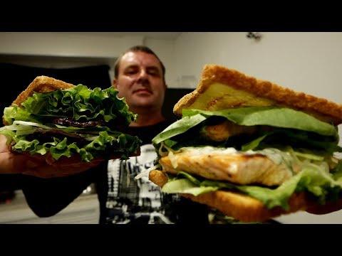 Сэндвичи и сыт на весь день!?