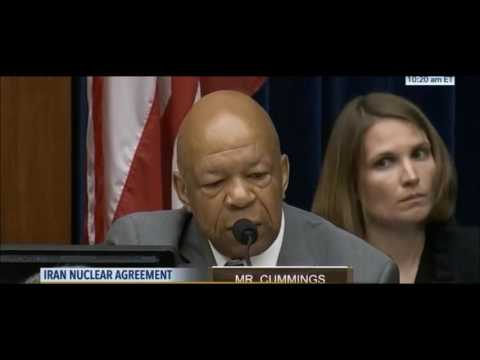 Trey Gowdy makes Elijah Cummings go silent at Iran nuclear treaty hearing