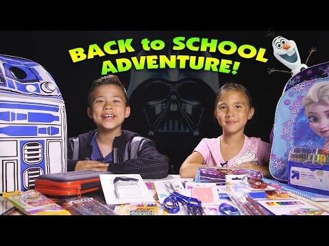 BACK TO SCHOOL ADVENTURE!