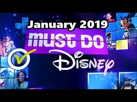 Must Do Disney With Stacey - January 2019 | Walt Disney World Resort TV