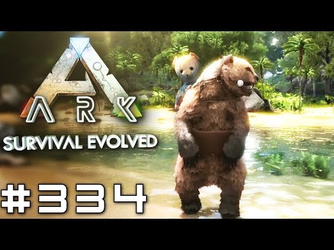 ARK #334 DIREBEAR Leveln! (ARK Deutsch/German/v239.2)