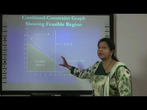 Linear Programing Problem: Graphical Solution in Hindi under E-Learning ProgramL