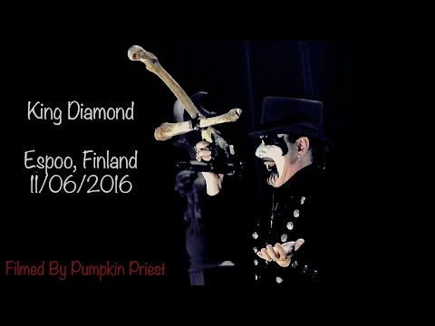 King Diamond - Abigail: In Concert 2016 [Espoo, Finland, 11/06/2016] (Live) [Full Show]