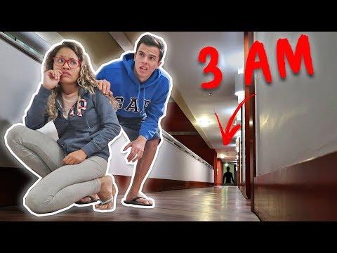 NUNCA ANDE PELO HOTEL ÀS 3 HORAS DA MADRUGADA! - KIDS FUN