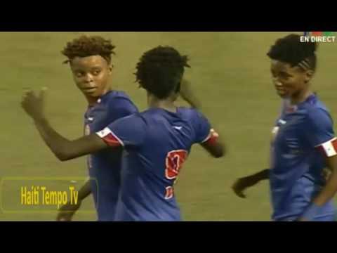 Haïti vs Cuba (3-1) football féminin