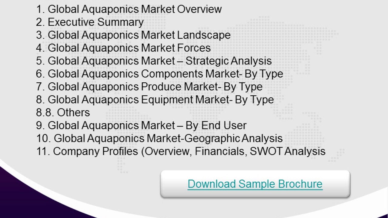 Good Investment Opportunities in Aquaponics Market