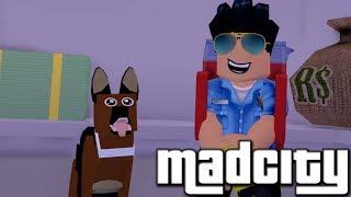 Ich nahm eine DOG in MADCITY! 😍🐶 Roblox Madcity