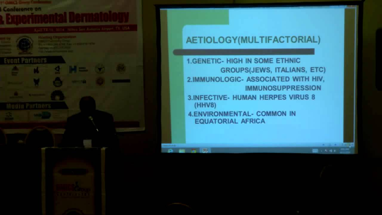 Maurice Efana Asuquo | University of Calabar| Nigeria| Dermatology 2014 |  OMICS International