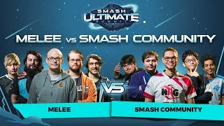 Melee vs Smash Community Crew Battle - Smash Ultimate Summit