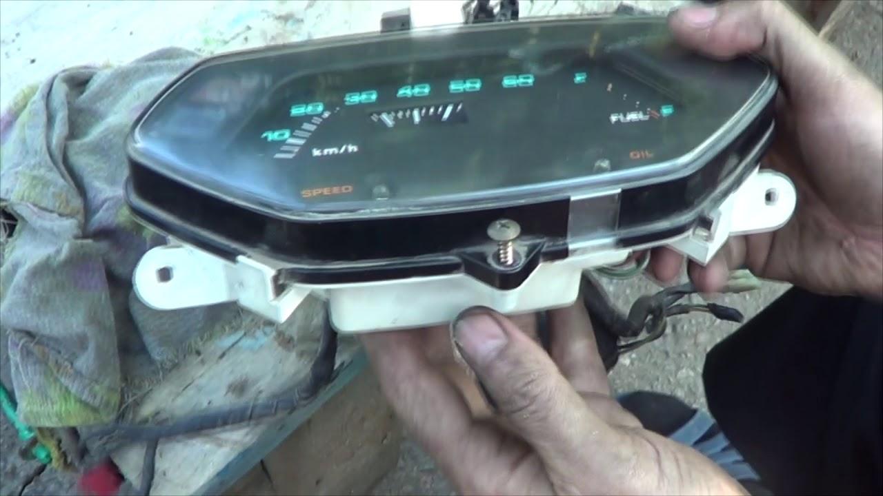 Как обнулить спидометр скутера