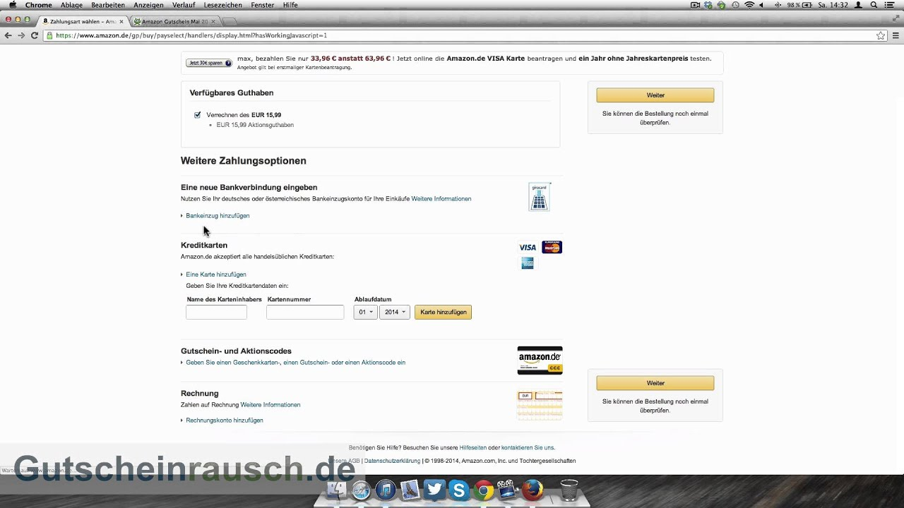 globaltestmarket amazon gutschein