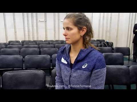 Julia Görges. Exklusiv-interview nach dem sieg in Moskau 21.10.17