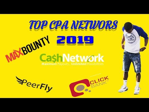 Top CPA Networks Affiliate Marketing For Beginners 2019