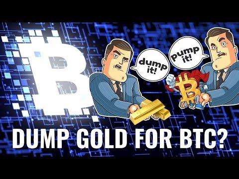 Dump Gold For Bitcoin? GBTC