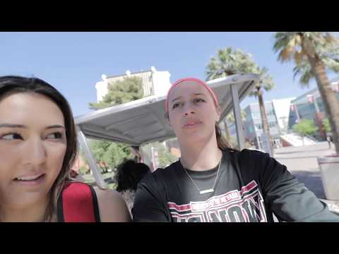 UNLV VOLLEYBALL: Dorm Life & Campus Tour