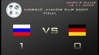 NJC 2007 FINAL Russia Germany 1 0 1 0