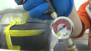 Фарбування лаком на 2 шару (експеримент)