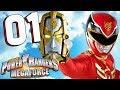 Power Rangers Megaforce - Part 1 Mega Mission GO GO MEGAFORCE! Nintendo 3DS Walkthrough