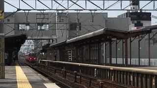 [試運転‼️]名鉄3500系未更新 3519f(試運転本宿行き)新安城駅 通過‼️