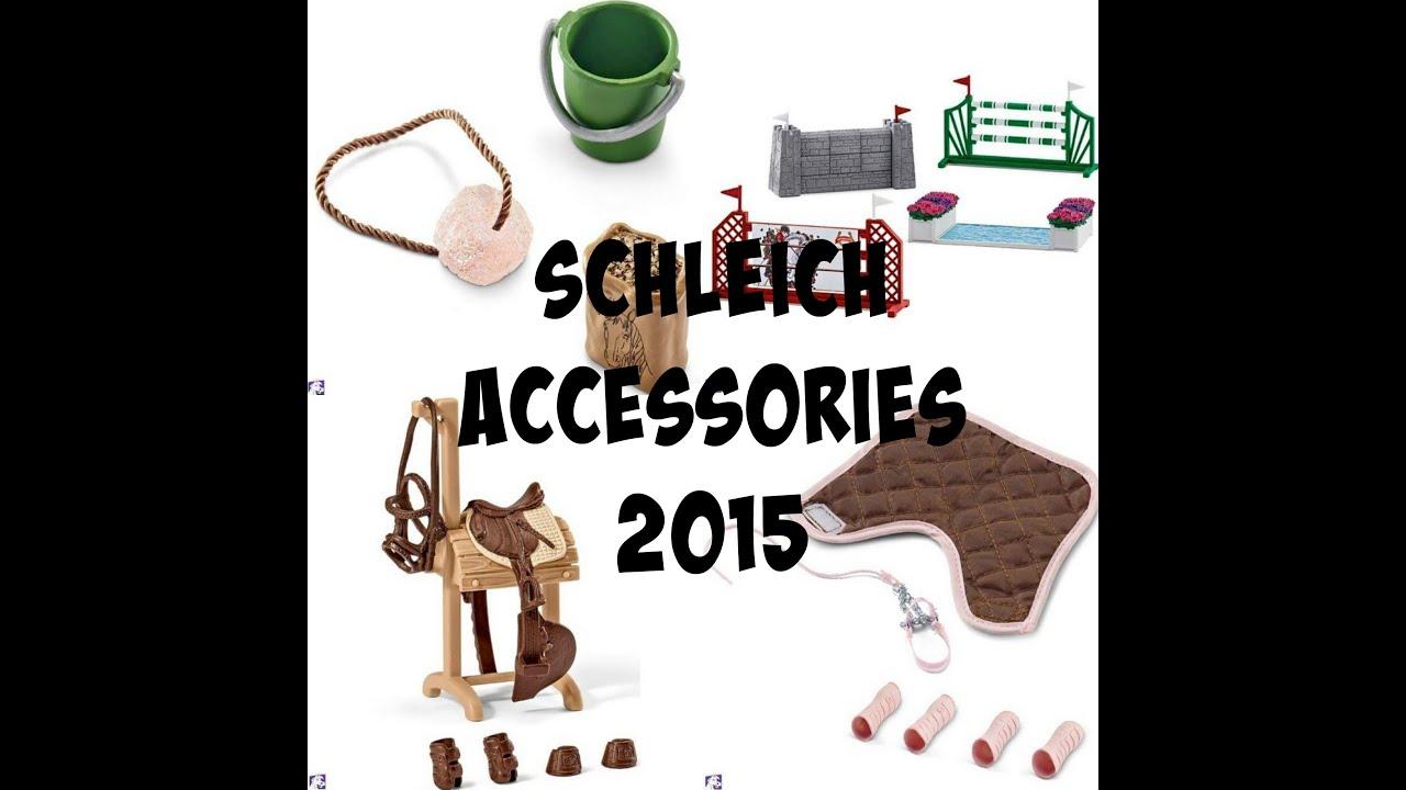 ALL SCHLEICH ACCESSORIES HORSES 2015 | Doovi