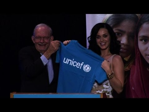 Katy Perry appointed UNICEF Goodwill Ambassador