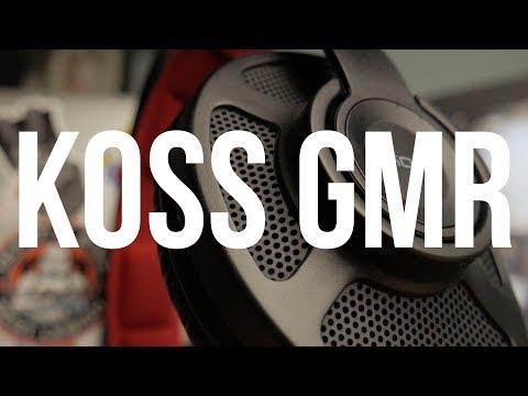 Обзор KOSS GMR-540 и GMR-545 USB | Отличные игровые гарнитуры за вменяемые деньги